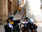 Magrela e Favela (bikes) carregadas